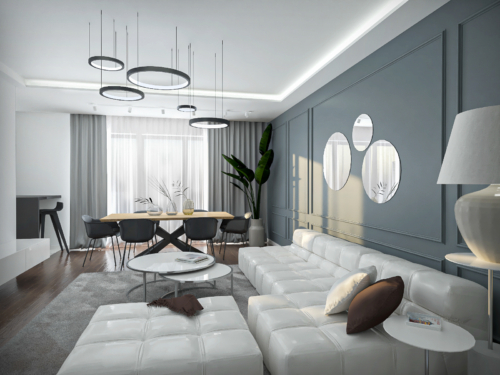 nowoczesny salon z klasyczną nutą , salon glamour, piękno i nowoczesność, niepowtarzalny styl, aranżacja salonu, wnętrze z klimatem
