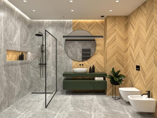 nowoczesna łazienka, atrakcyjna łazienka, styl skandynawski, aranżacja łazienki, wnętrze z klimatem